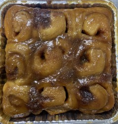 maple sticky bun